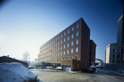 Офисное здание на Пречистенской набережной