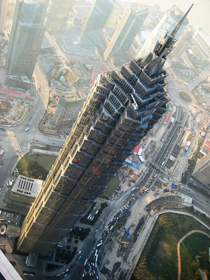 Jin Mao Tower. Китай.