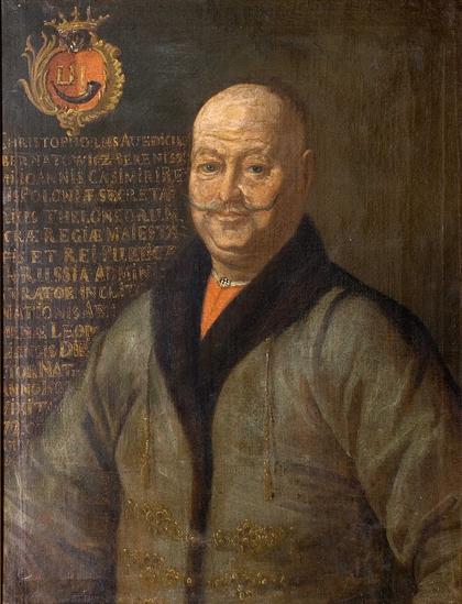 Христофор Захария Захнович (?). Портрет Кшиштофа Аведика Бернатовича (1590–1671). Х., м. 78х63 см.