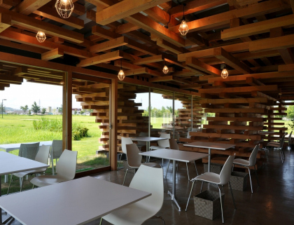 Победитель 2012 года. Café Kureon (Japan) / Kengo Kuma & Associates