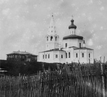 Троицкий собор Кондинского монастыря Оби