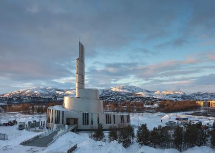 Храм северного сияния