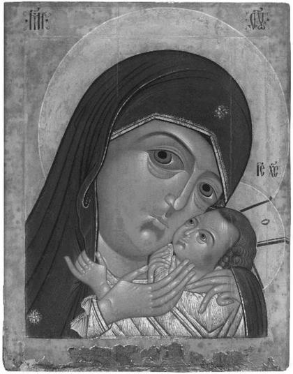 Икона первой трети XVII века из церкви Дмитрия Солунского в Ярославле