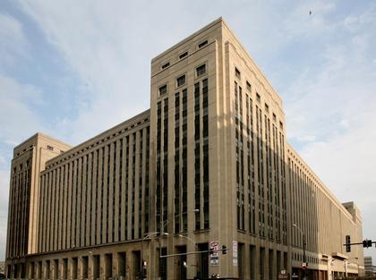2. Центральное здание почты в Чикаго (арх. фирма Грехем, Андерсон, Пробст и Уайт, 1932). Фото Андрея Бархина