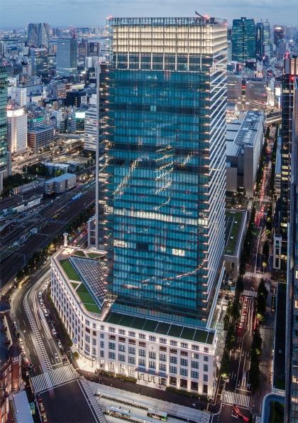 Небоскреб Japan Post Tower