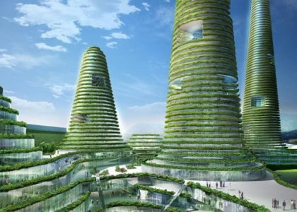 Gwanggyo Green Power Center. MVRDV