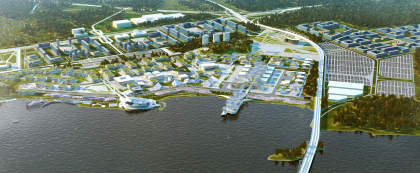 Architectural concept of EXPO 2020