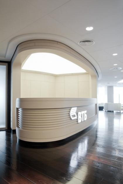 Офисные интерьеры в башне «Запад» комплекса «Федерация»