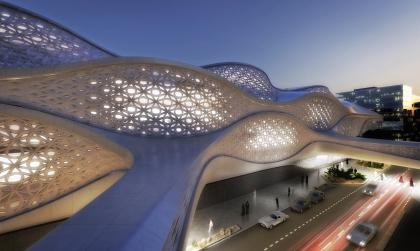 Станция метро Финансового района Короля Абдаллы