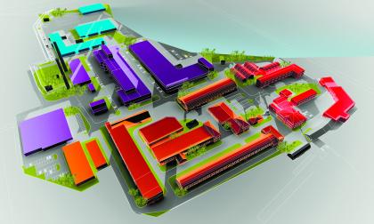 Заречье, архитектурно-градостроительная концепция