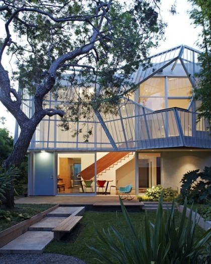 Daly Genik Architects, Palms House, Venice, California, 2011. Фото: design-milk.com