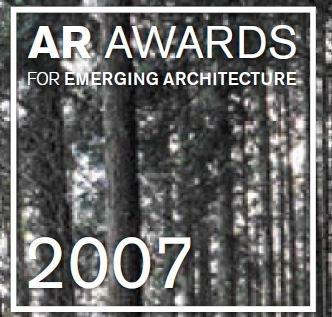 Премия журнала «The Architectural Review» начинающим архитекторам 2007