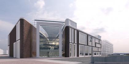 Конкурсная концепция фасадов нового здания Третьяковской галереи