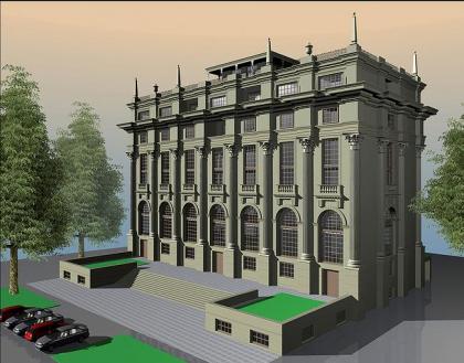 Офисное здание в Калошином переулке