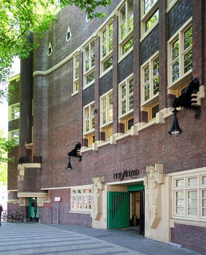 Илл. 9. Здание Ювелирного училища в Амстердаме, 1924. © А.Д. Бархин