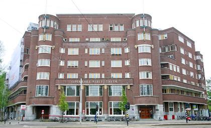 Илл. 11. Жилой дом на Хартпляйн в Амстердаме, арх. Б. ван ден Ньюуен Амстель, 1928. © А.Д. Бархин
