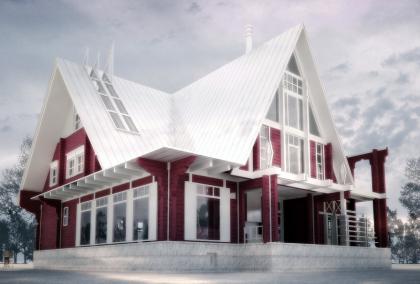 Дом в Голицыно