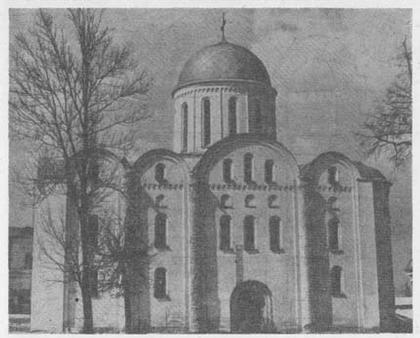Чернигов. Борисоглебская церковь.