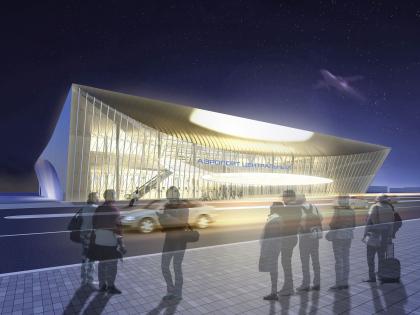 Концепция пассажирского терминала аэропорта «Центральный» в Саратове