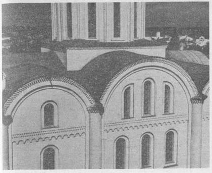 Владимир-Волынский. Успенский собор. Западный фасад.