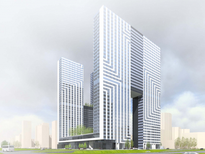 Contest project of a housing complex on the Rublevskoe Highway