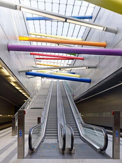 Станция городской электрички Bayerischer Bahnhof