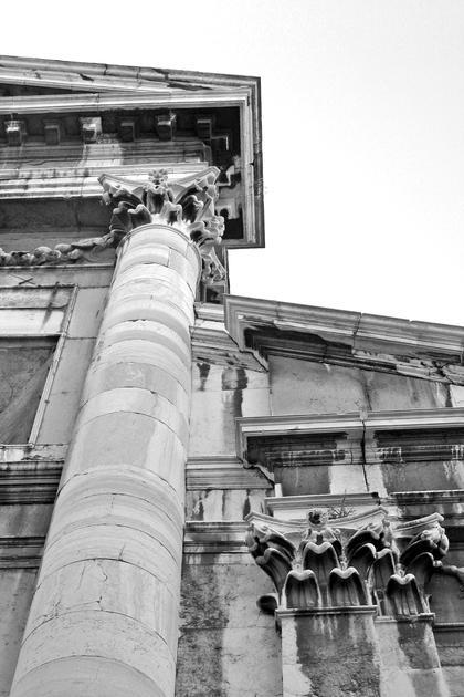 Церковь Сан Витале в Венеции, 1650. Редкий пример следования приемам Палладио в церковной архитектуре © А.Д. Бархин
