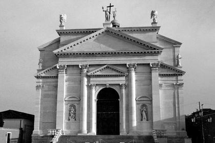 А.Палладио, Иль Реденторе в Венеции, 1577. Базиликальный фронтон Палладио, как воплощение гармонии © А.Д. Бархин