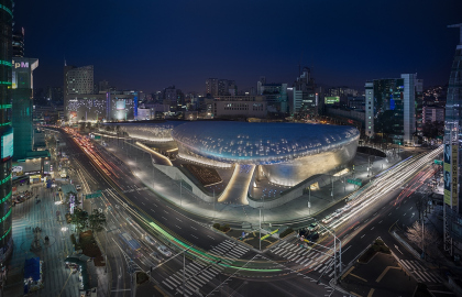 Комплекс Dongdaemun Design Park and Plaza