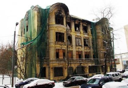 Дом купца Быкова в Москве отреставрируют к 2017 г.