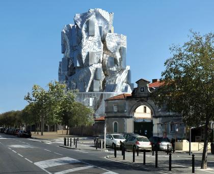 Центр художественных ресурсов на кампусе LUMA Arles