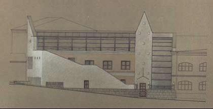 Проект реконструкции офисного здания фабрики Ява в Москве
