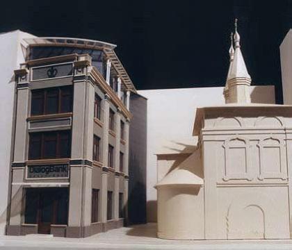 Проект здания «Диалог Банка» в Старопанском переулке