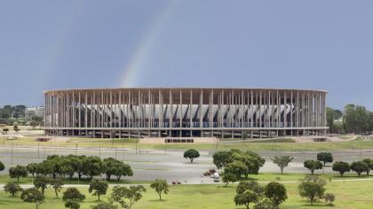 Национальный стадион Бразилии «Манэ Гарринча»