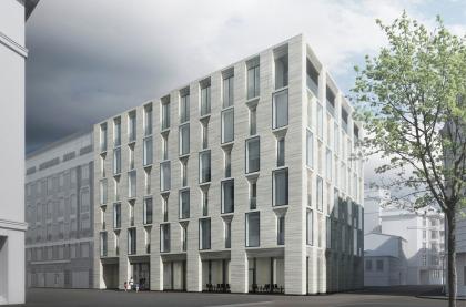 Проект гостиничного комплекса в Курсовом переулке
