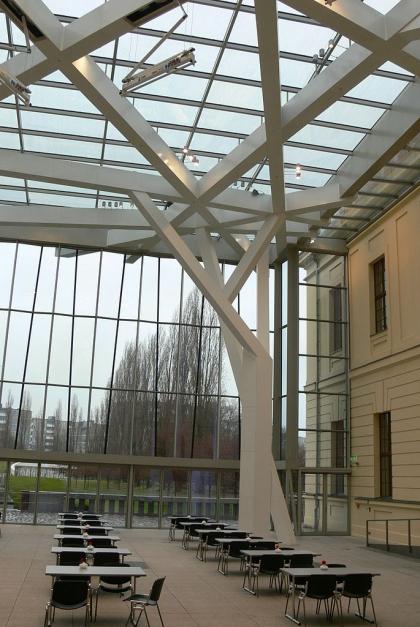 Еврейский музей – перекрытия двора