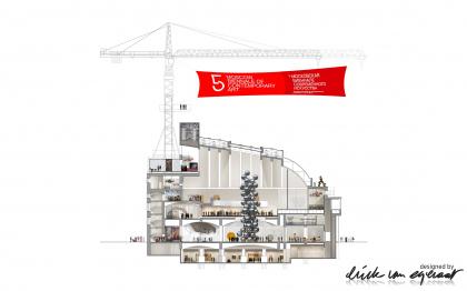 Центр современного искусства «Ударник». Конкурсный проект