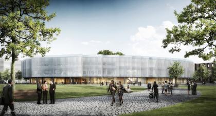 Исследовательский центр и штаб-квартира компании AstraZeneca