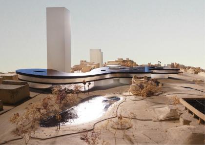 Новое здание Музея искусств округа Лос-Анджелес LACMA