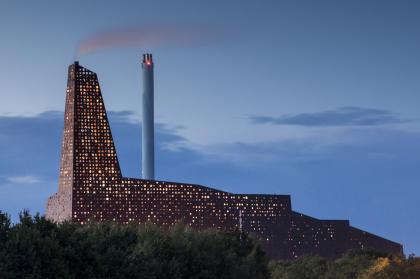 Мусоросжигательный завод в Роскилле