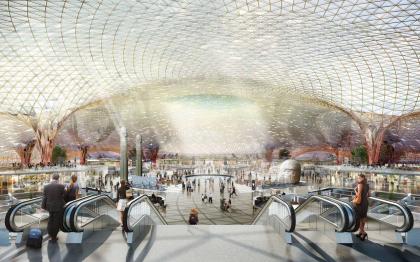 Новый международный аэропорт Мехико