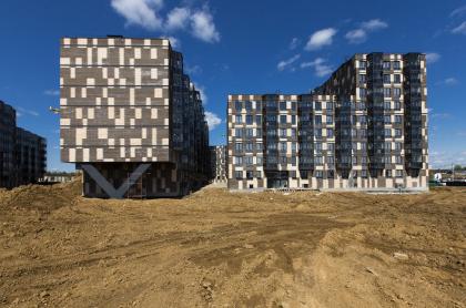 Жилой комплекс в Апрелевке