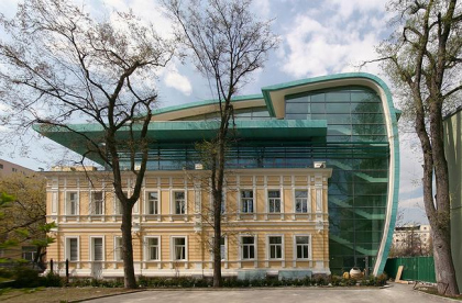 Reconstruction of the building of Russian Architects Union
