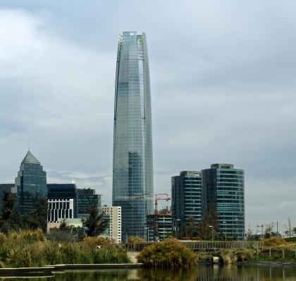 Башня Gran Torre Santiago