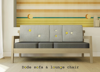 Dode Sofa, Dode Lounge Chair. Дизайнер Gloria Colleoni. Иллюстрация: www.formabilio.com