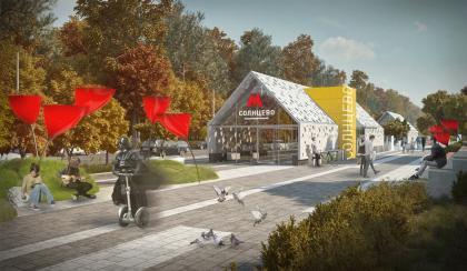 Дизайн станции метро «Солнцево»