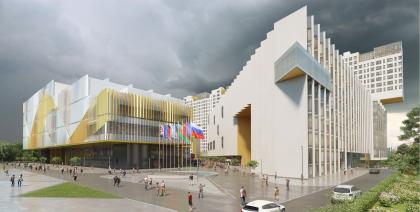 Многофункциональный комплекс и Центр художественной гимнастики