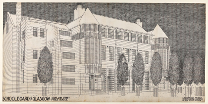 Design for Scotland Street School by Charles Rennie Mackintosh © The Hunterian, Univeristy of Glasgow