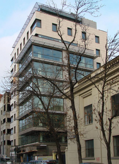 Административное здание на ул. 2-я Брестская, 34