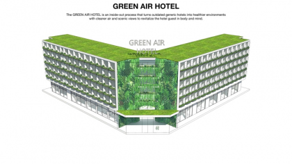 Гран-при 2014. Green Air Hotel. Studio Twist, China. Иллюстрация: radicalinnovationaward.com